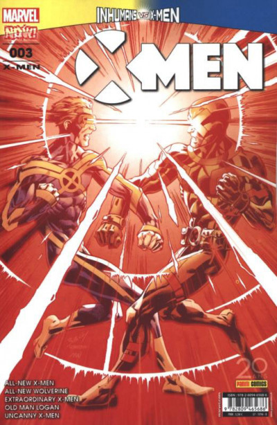 Couverture X-men tome 3