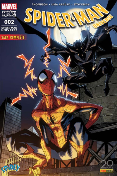 Couverture Spider-Man universe tome 2
