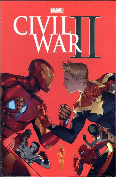 Couverture Civil war II - édition absolute
