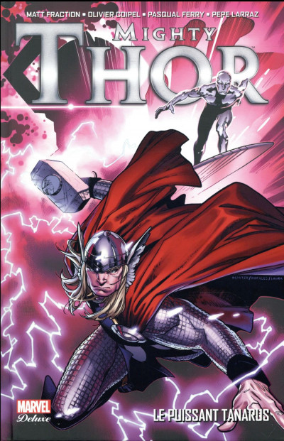 Couverture The mighty Thor deluxe tome 1