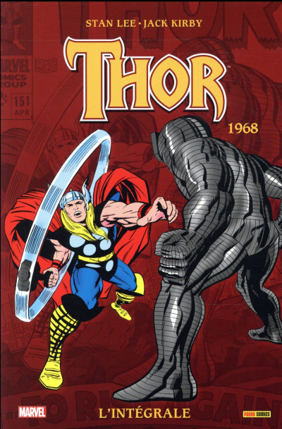 Couverture Thor - intégrale tome 10 - 1968