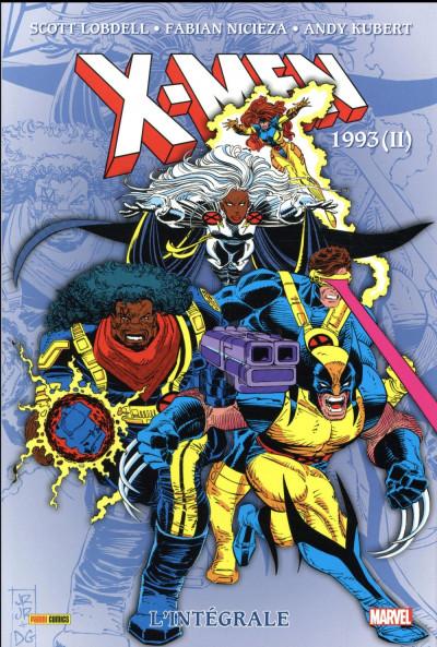 Couverture X-men - intégrale tome 33 - 1993 (II)
