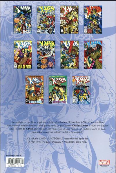 Dos X-men - intégrale tome 33 - 1993 (II)