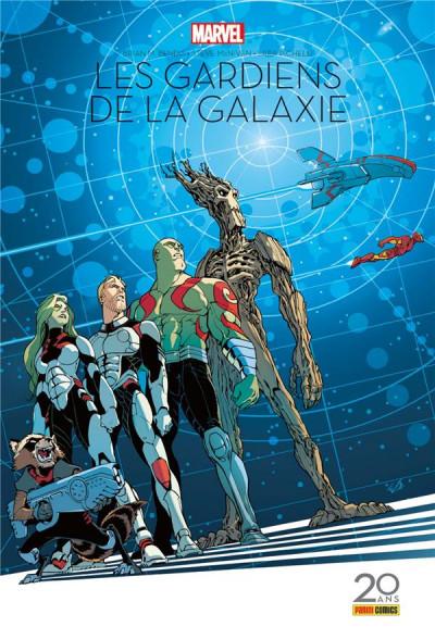 Couverture Les gardiens de la galaxie - édition 20 ans