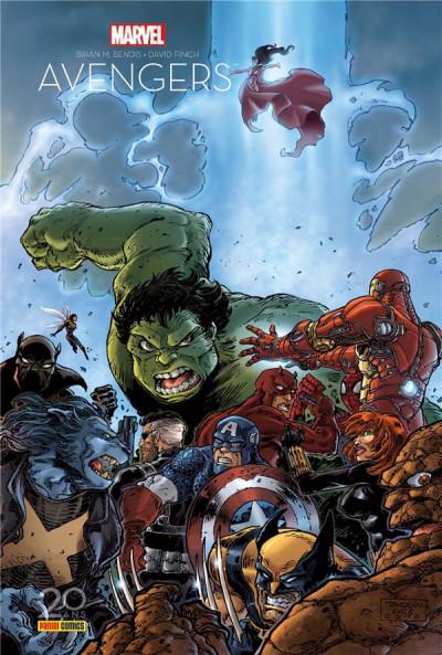 Couverture Avengers - la séparation - édition 20 ans