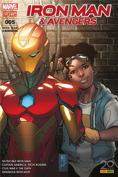 Couverture Iron man & Avengers tome 5