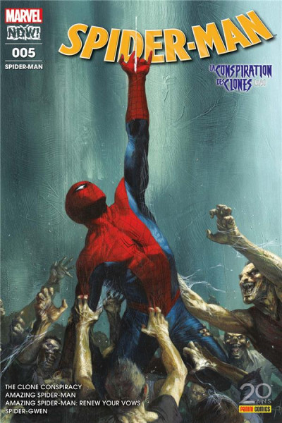 Couverture Spider-man tome 5