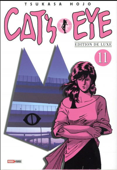 Couverture Cat's eye - édition 2017 tome 11