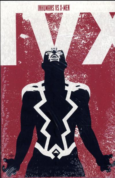 Couverture Inhumans VS X-Men tome 1 - édition Collector avec coffret hardcover