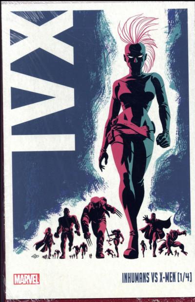 Dos Inhumans VS X-Men tome 1 - édition Collector avec coffret hardcover