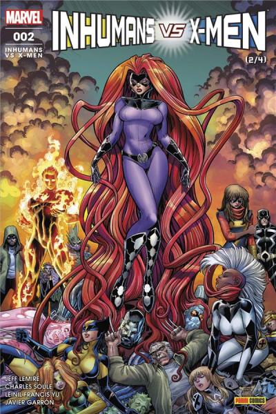 Couverture Inhumans VS x-men tome 2