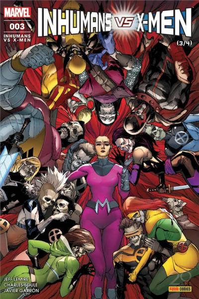 Couverture Inhumans VS X-Men tome 3
