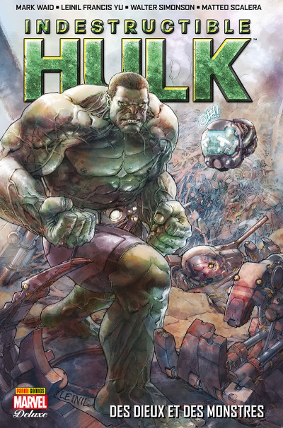 Couverture Indestructible Hulk tome 1
