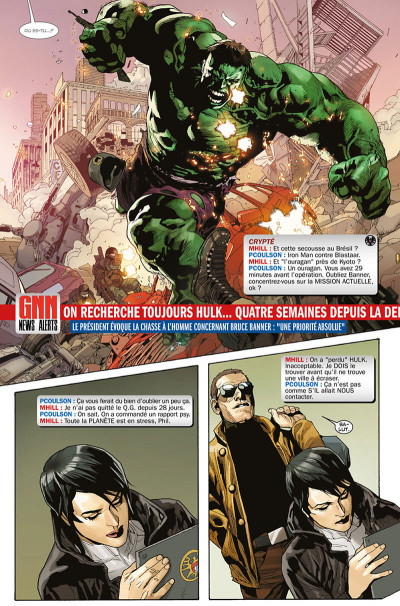 Page 0 Indestructible Hulk tome 1