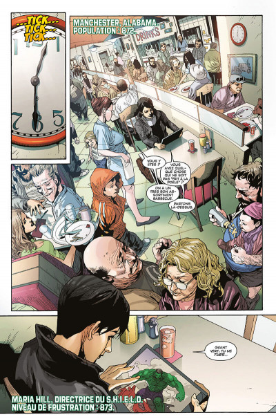 Page 9 Indestructible Hulk tome 1
