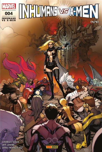 Couverture Inhumans VS X-Men tome 4