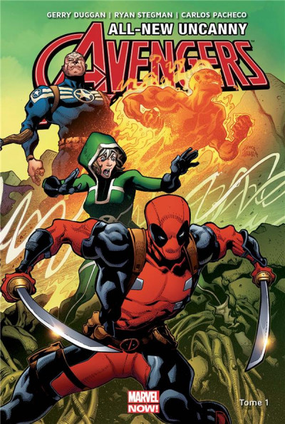 Couverture All-new Uncanny Avengers tome 1