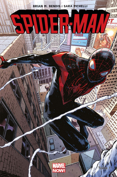 Couverture Spider-Man all-new all-different tome 1