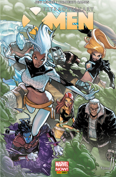 Couverture Extraordinary X-Men tome 1