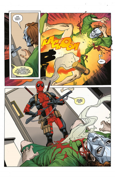 Page 0 Deadpool VS Thanos