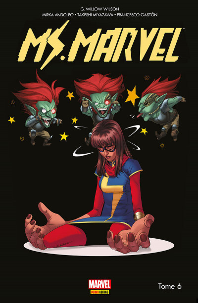 Couverture Ms. Marvel tome 6