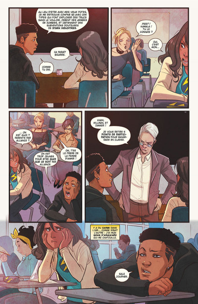 Page 8 Ms. Marvel tome 6
