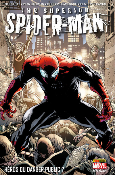 Couverture Superior spider-man - deluxe tome 1