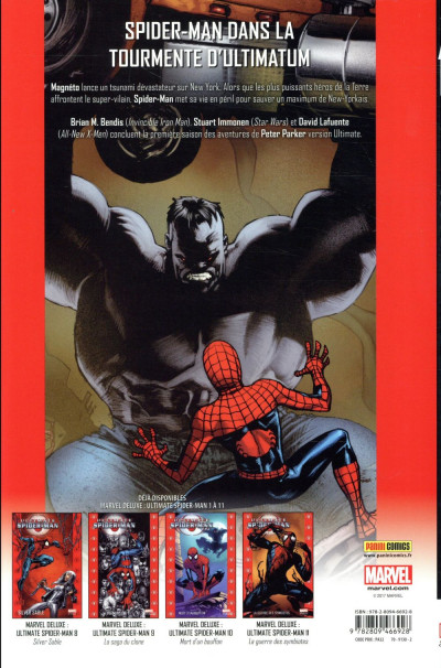 Dos Ultimate Spider-man tome 12