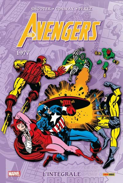 Couverture Avengers - intégrale tome 14 - 1977