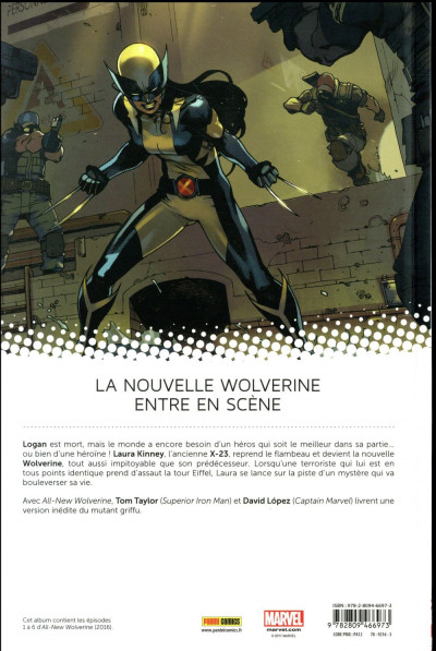 Dos All new Wolverine tome 1