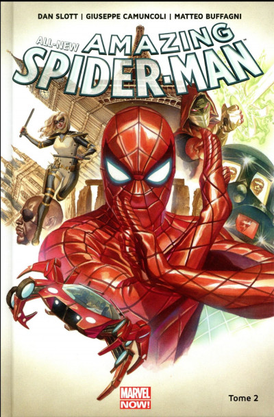 Couverture All-new amazing spider-man tome 2