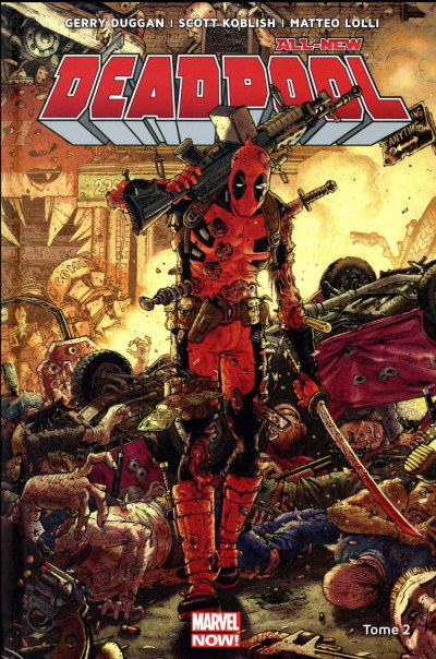 Couverture All-new Deadpool tome 2