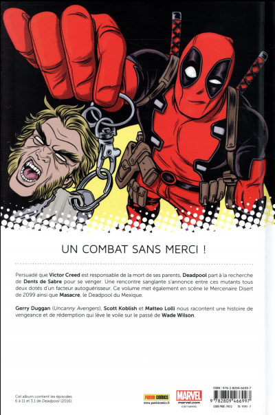 Dos All-new Deadpool tome 2