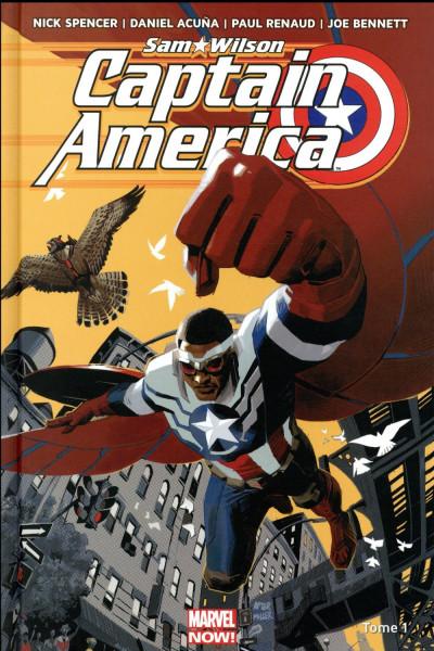 Couverture Captain America - Sam Wilson tome 1