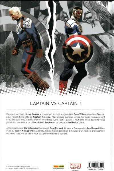 Dos Captain America - Sam Wilson tome 1