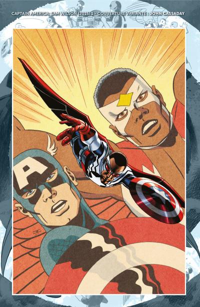 Page 5 Captain America - Sam Wilson tome 1