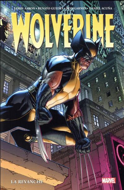 Couverture Wolverine par Jason Aaron tome 2