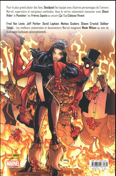 Dos Deadpool team-up tome 1