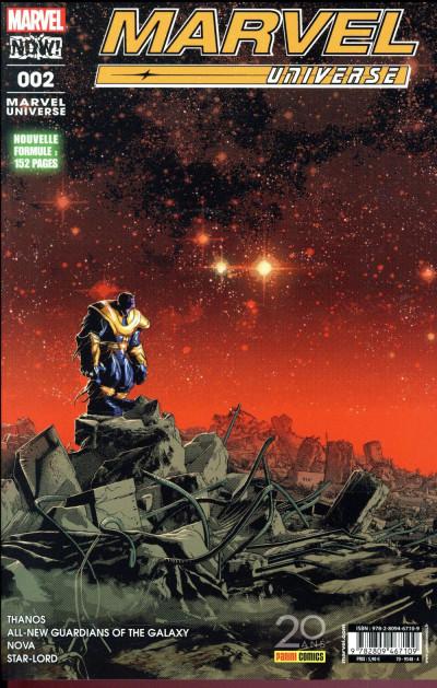 Couverture Marvel universe tome 2