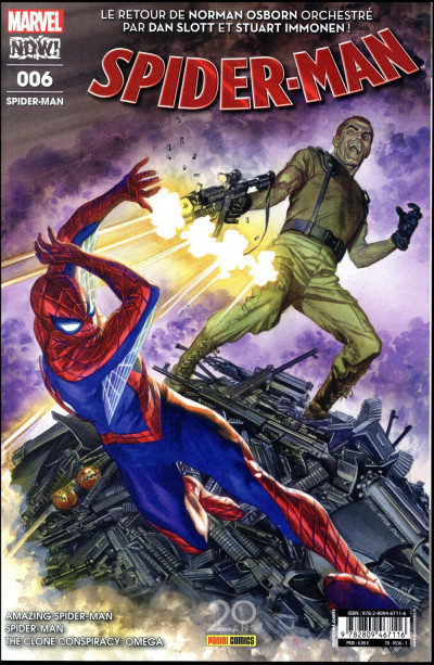Couverture Spider-man tome 6