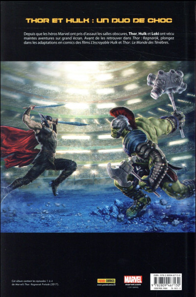 Dos Thor - Ragnarok - le prologue du film