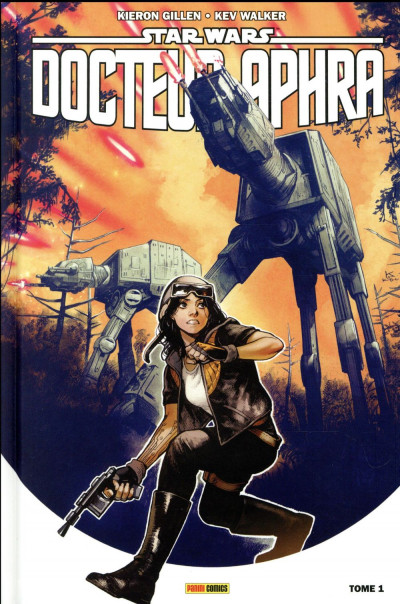 Couverture Star wars - docteur Aphra tome 1