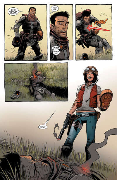 Page 9 Star wars - docteur Aphra tome 1