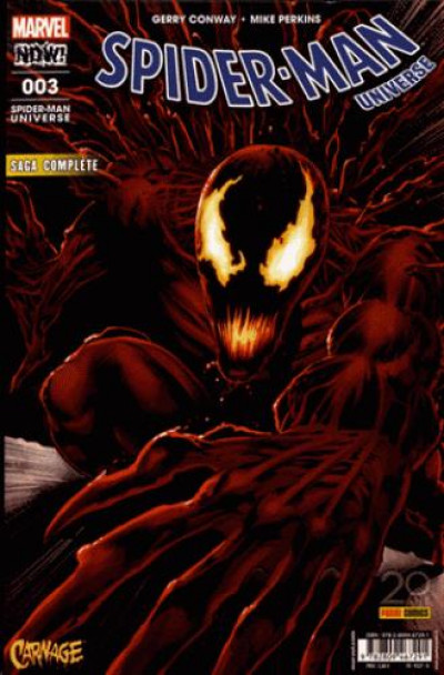 Couverture Spider-man universe tome 3