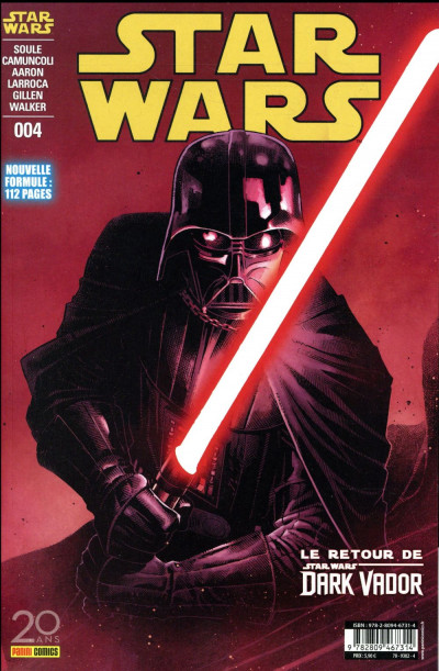 Couverture Star wars - fascicule série 2 - couverture 1/2