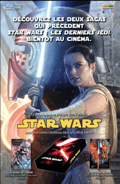 Dos Star wars - fascicule série 2 - couverture 1/2
