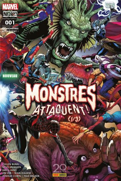 Couverture Les monstres attaquent ! tome 1