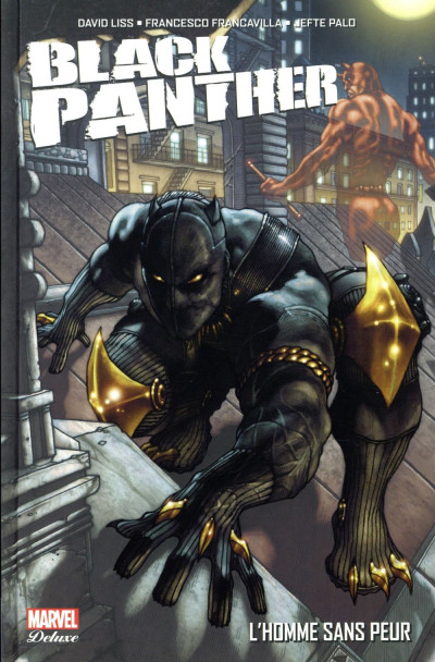 Couverture Black panther - l'homme sans peur