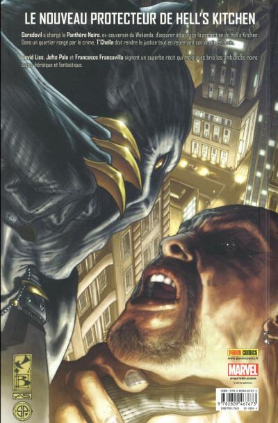 Dos Black panther - l'homme sans peur