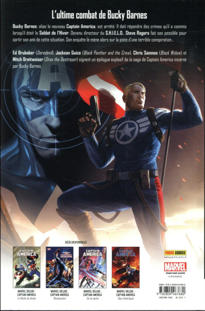 Dos Captain America tome 8